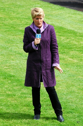 Kate/Clare Balding/Parade of Champions, Sandown Park, April 2014/Flickr
