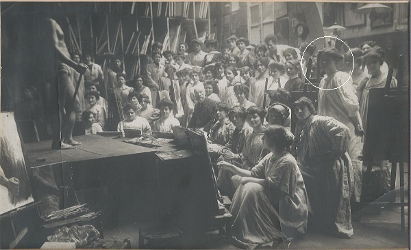 Margaret Waite, Academie Julian, Paris 1911