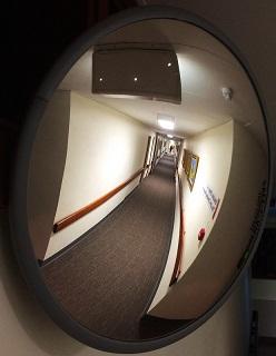Hospital corridor/Len Matthews/flickr