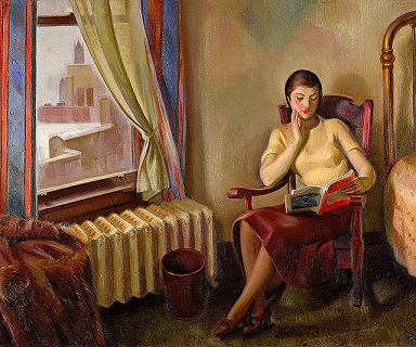 J. Theodore Johnson: Chicago Interior 1934/Smithsonian American Art Museum/flickr