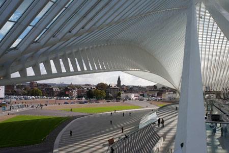 Liege-Guillemins Station/Santiago Calatrava
