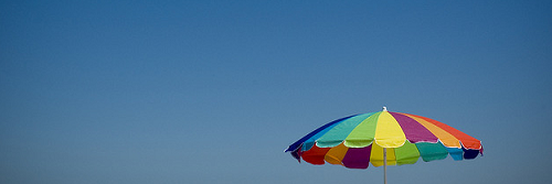Beach umbrella/Matt Niemi/flickr