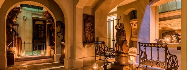 Evening opening by candlelight - Sir Soane's Museum