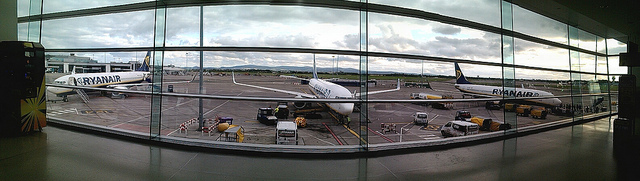 Tim Sheerman-Chase/Dublin Airport, near Gate 107/Flickr