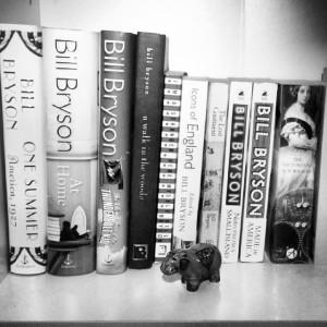 Fabienne D/Oui, j'aime bien Bill Bryson.#shelfie/Flickr
