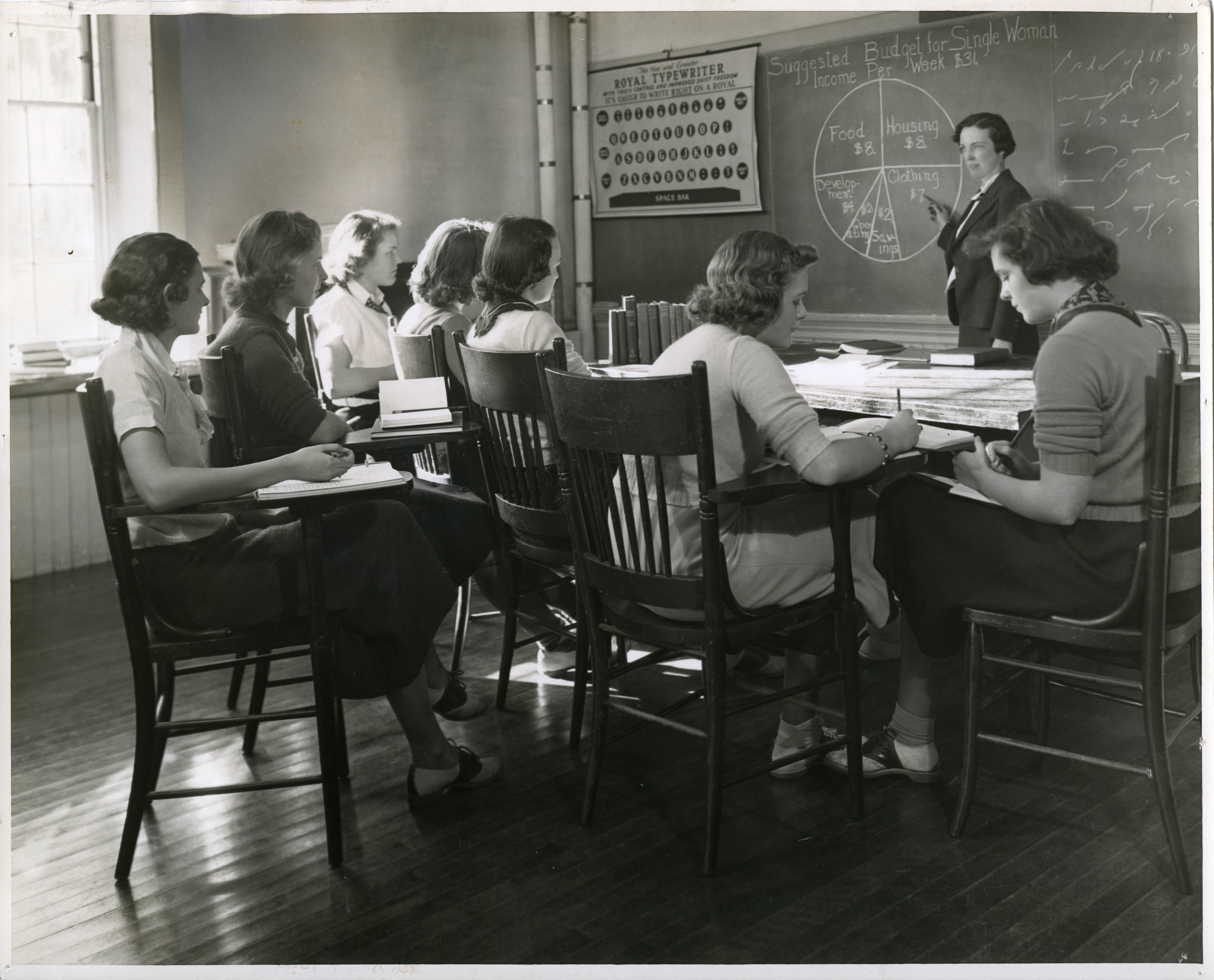 Abbot Academy Class, 1938/Dorothy Jarvis/flickr