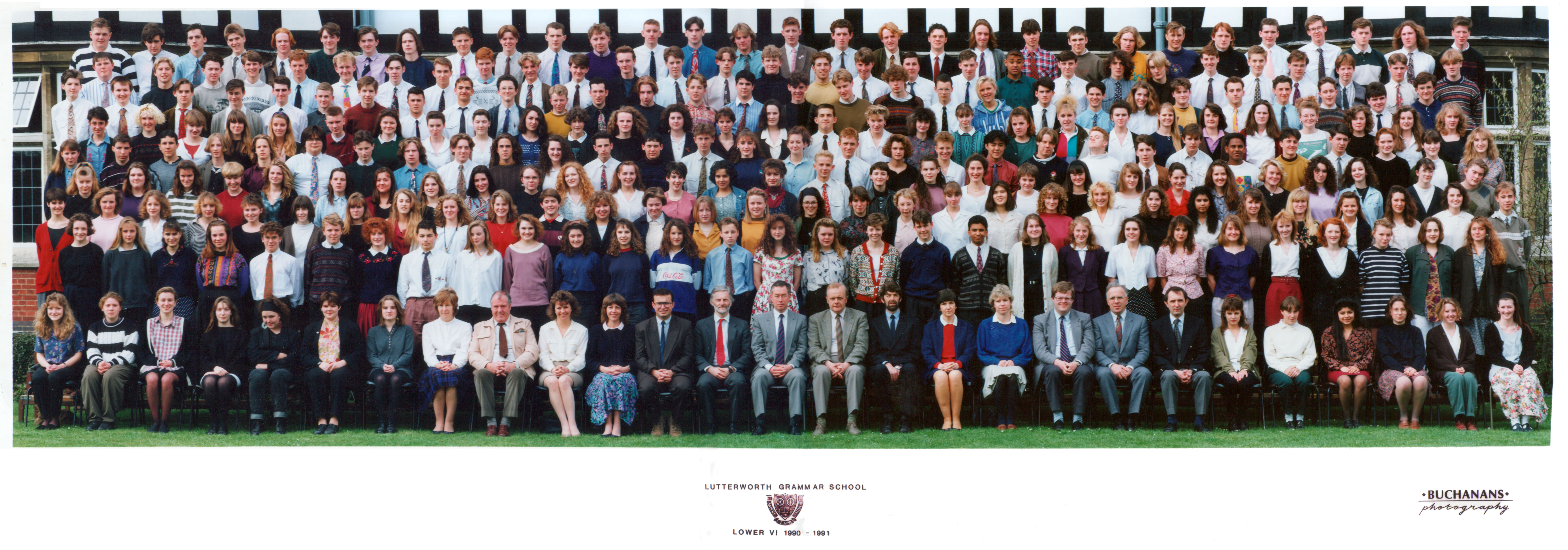 Lutterworth Grammar School Lower Sixth year 1991/Ewen Roberts/flickr